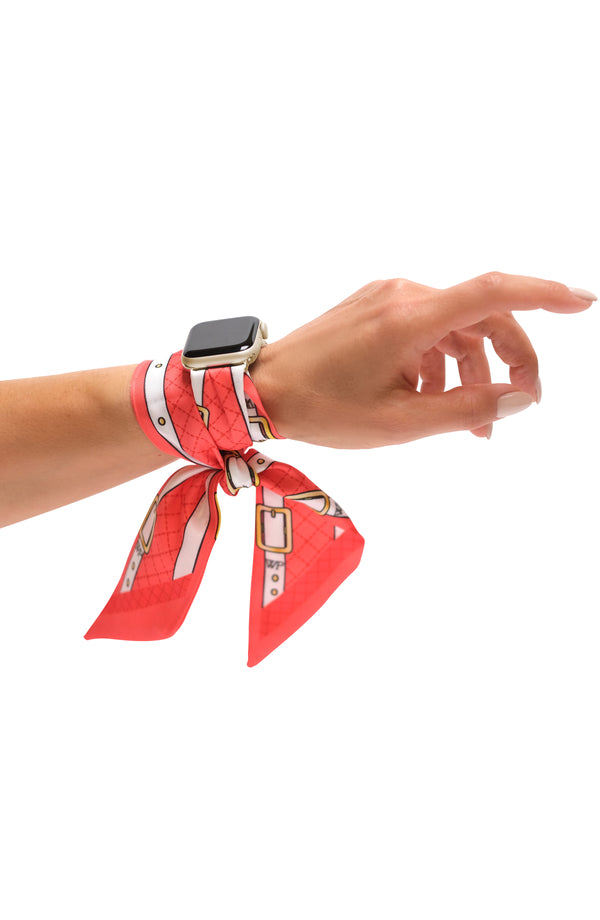 STRAPS ROUGE APPLE WATCH BAND (CONNECTORS INCLUDED)