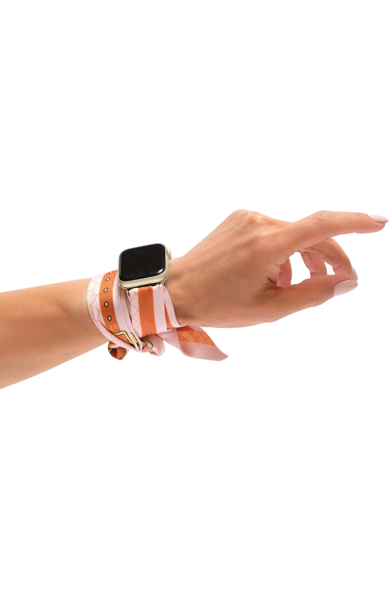 STRAPS ROSÉ WITH APPLE WATCH CONNECTORS (INCLUDED)
