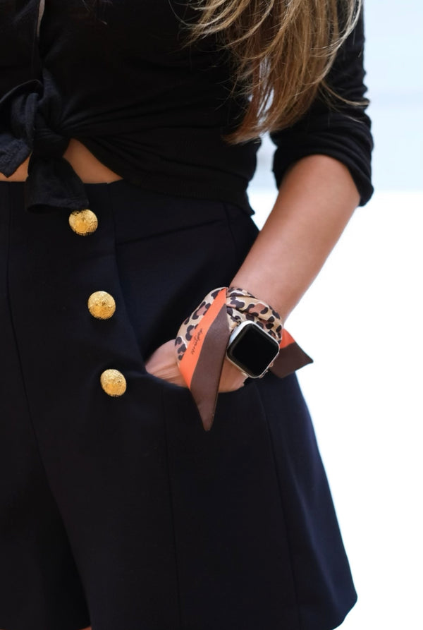 BARDOT 2 APPLE WATCH BAND (CONNECTORS INCLUDED)