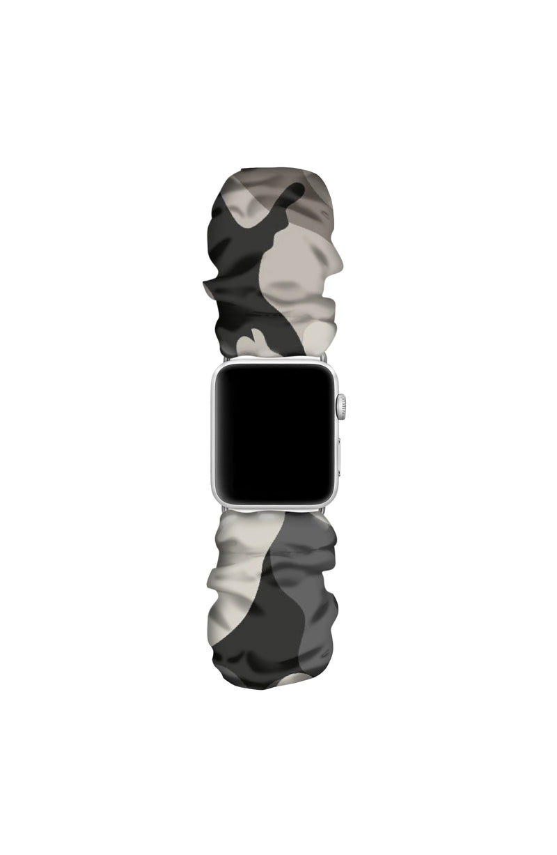 SHADOW APPLE WATCH SCRUNCHIE