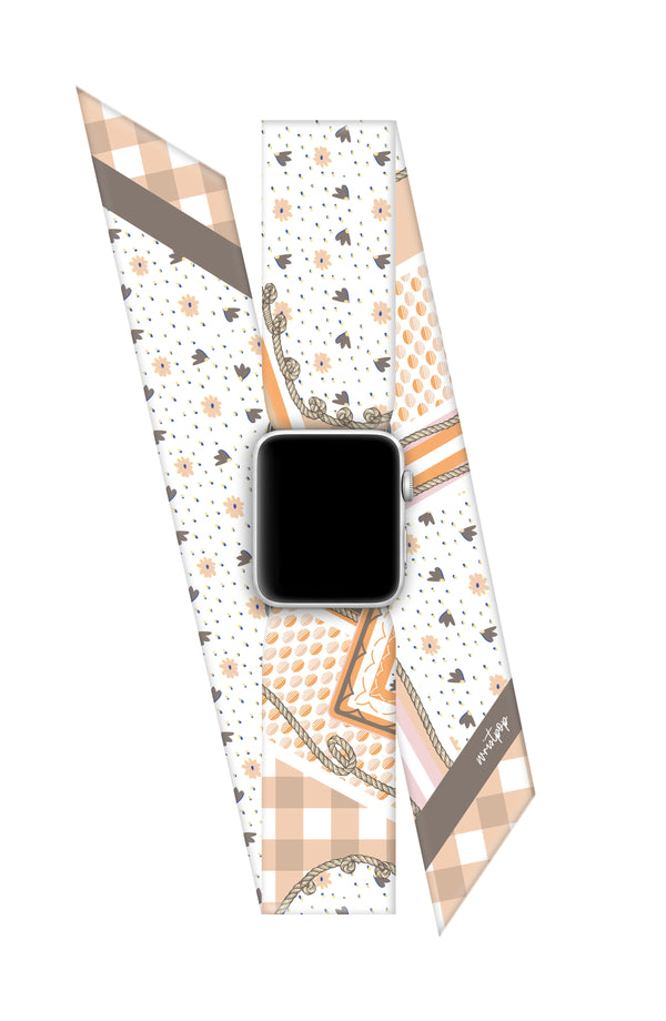 WOODSTOCK APPLE WATCH BAND (CONNECTORS INCLUDED)