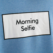 "Sweat Patchwork ""Morning Selfie"""