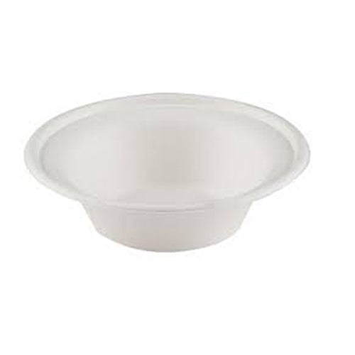 50x 151mm Bagasse food bowls (12oz).
