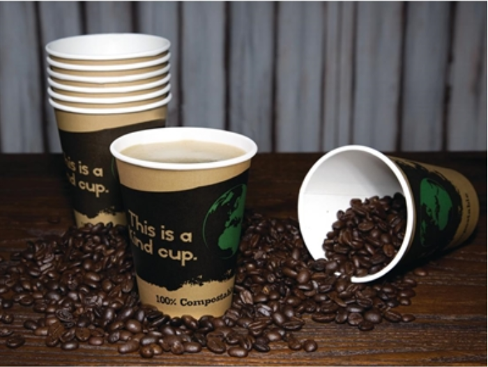 50x Compostable Coffee Cups