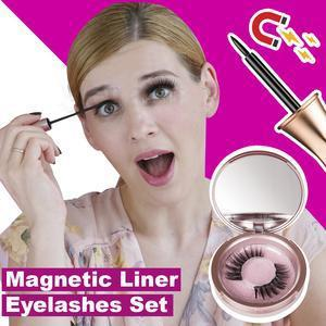 [2019 NEW] Next-Level Magnetic Eyelashes and Eyeliner Set(can be recycled repeatedly)