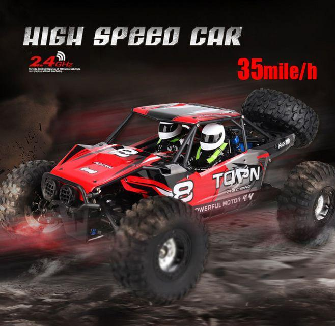 (65% OFF)High-speed Remote Climbing Car Toy 1:12 Four-Wheel Drive