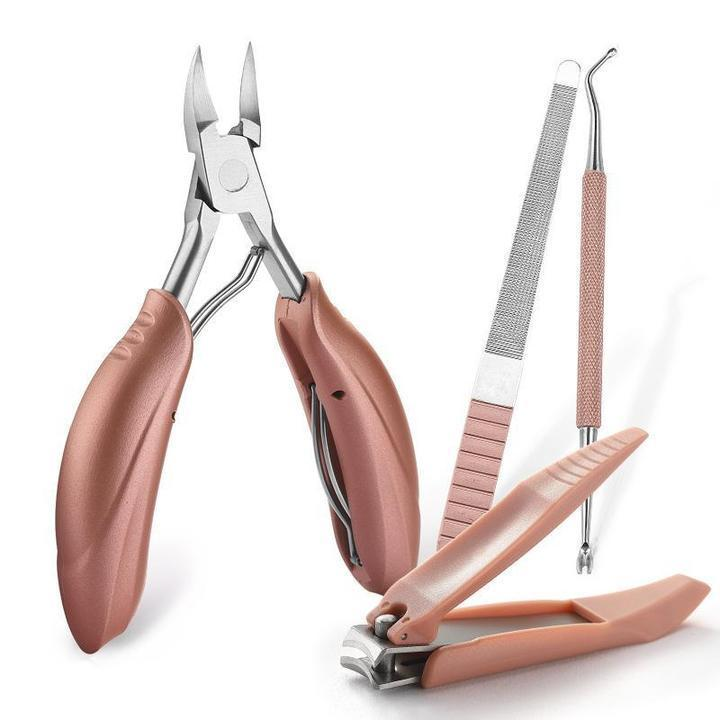 4PCS NAIL CLIPPERS 【Professional Paronychia treatment/Onychomycosis treatment tool】