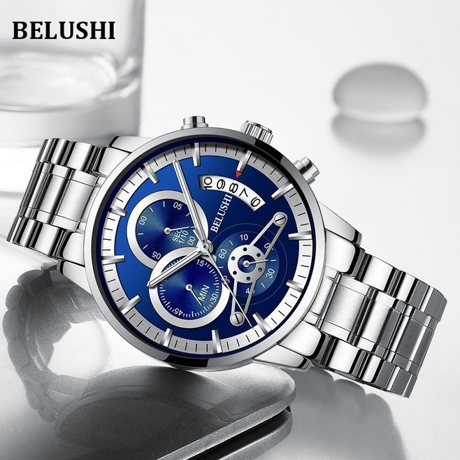 Men's watch top luxury brand business casual men's charm army military