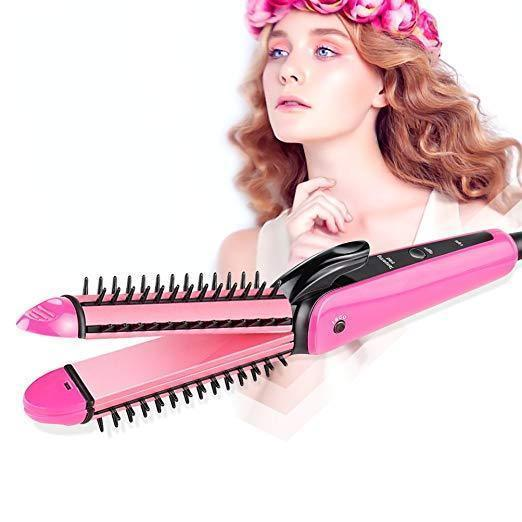 Hair Curlers Straightener Hair Iron 3-in-1 Hair Styling Tools