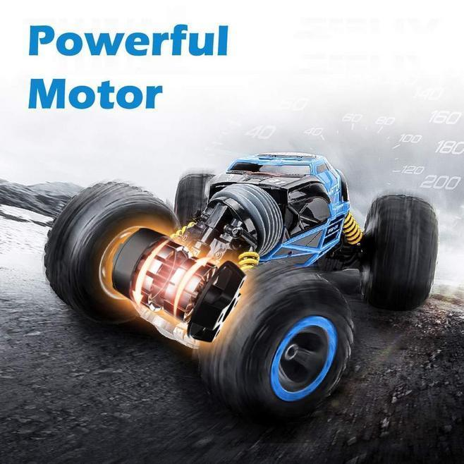 (50% OFF)Hot sale!!! RC Car Off-Road Vehicles Wireless deformation anti-fall four-wheel drive remote-control car toys
