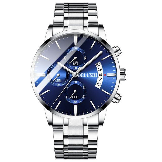 2019 Men Wrist Watch Man Business Watches Chronograph Luxury Brand Male Clock Quartz Watch