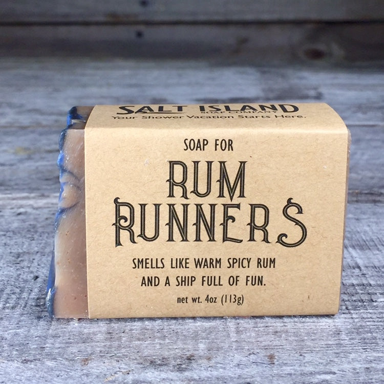 Soap for Rum Runners