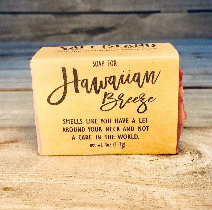 Soap for a Hawaiian Breeze