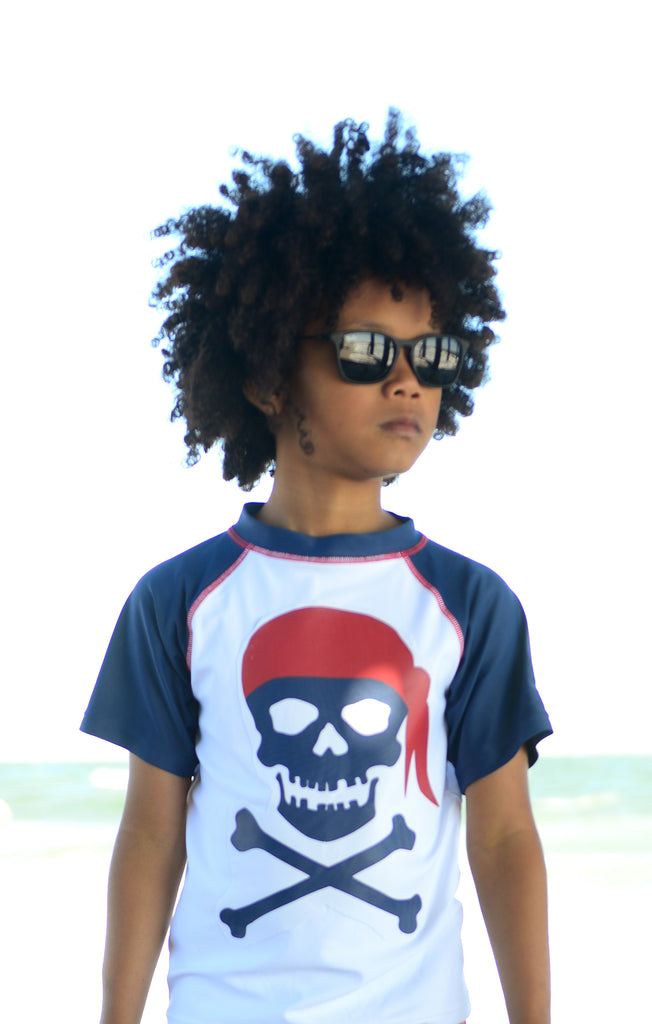 Appaman Boys Pirate Swim shirt