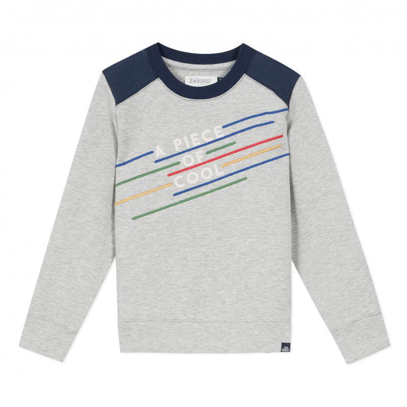 Jean Bourget Embroidered sweatshirt