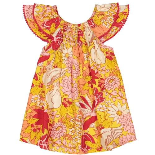 Masala Baby Dress in Swan Lake