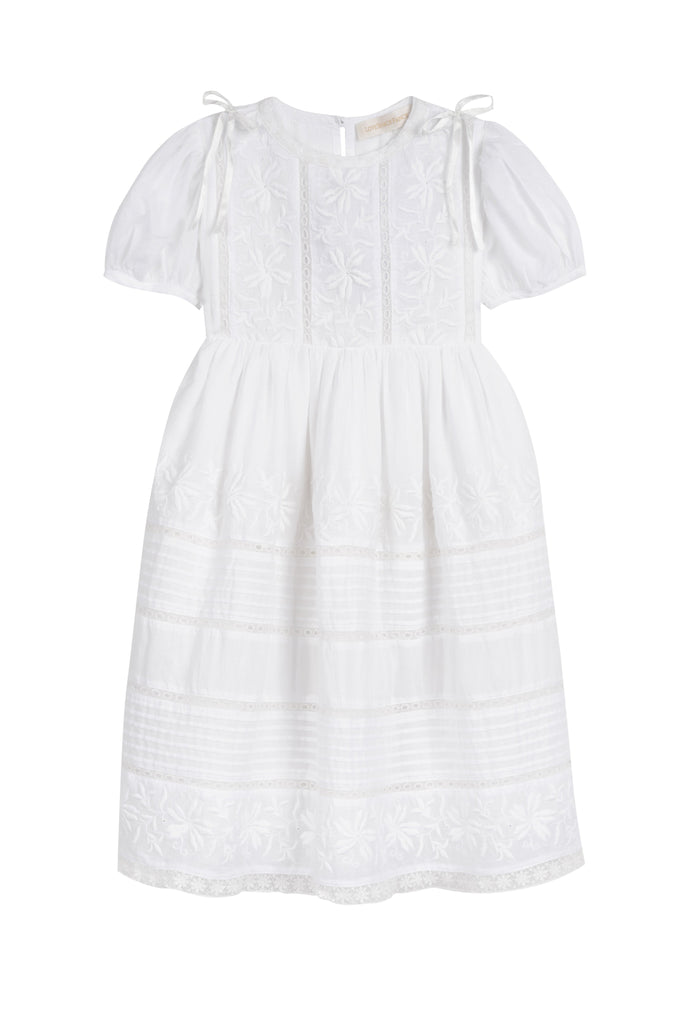 Holly Dress in White