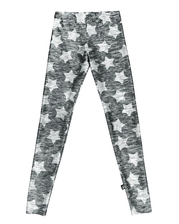 Grey Stars Legging