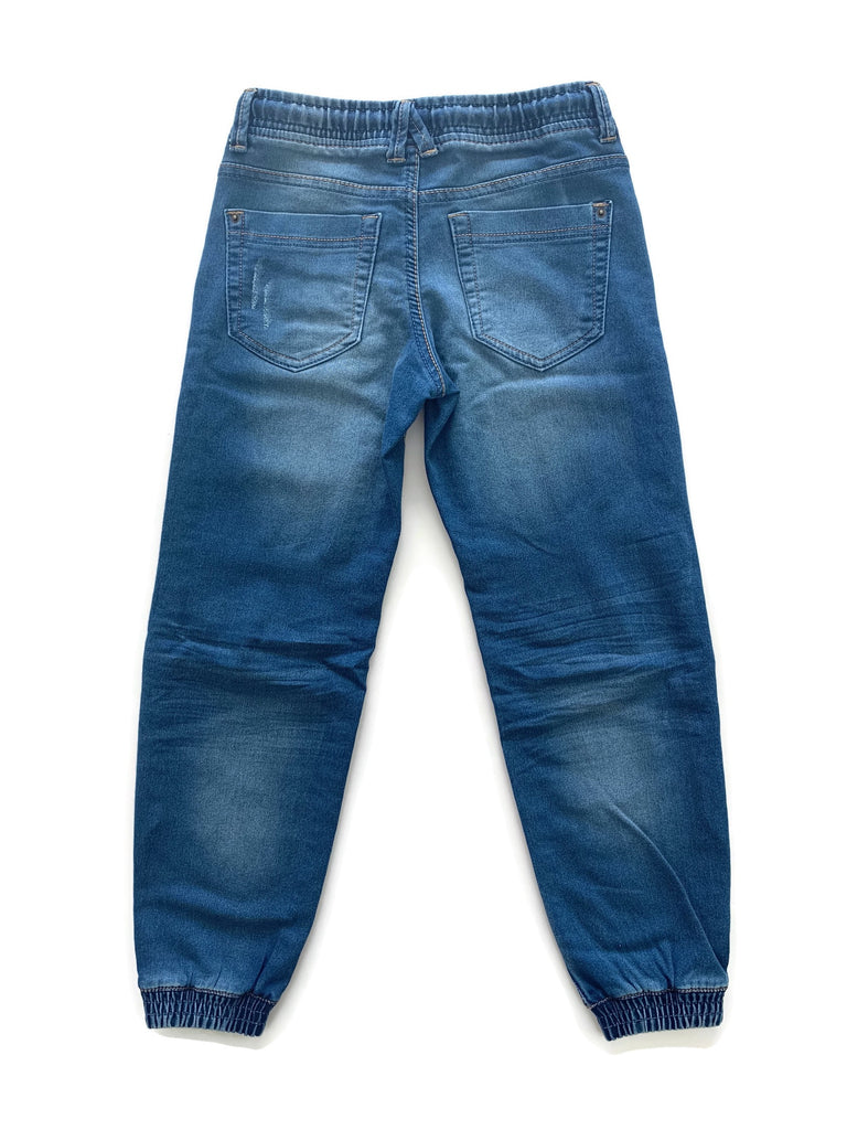 Dex Pull On Denim Joggers