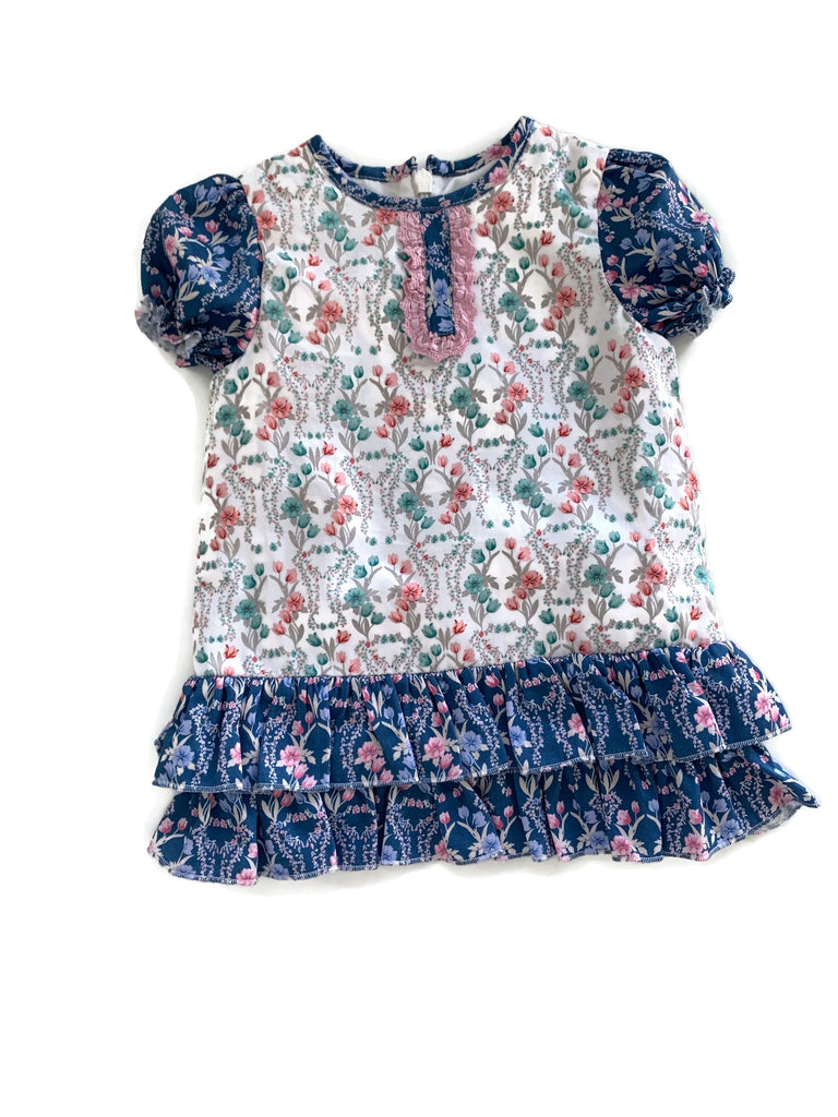 Baby Ruffle Dress with Bloomers Set