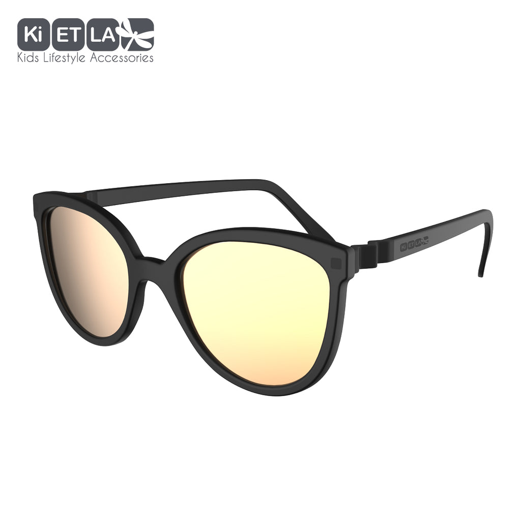 Black Crazyg-Zag Buzz Sunglasses (6-9)