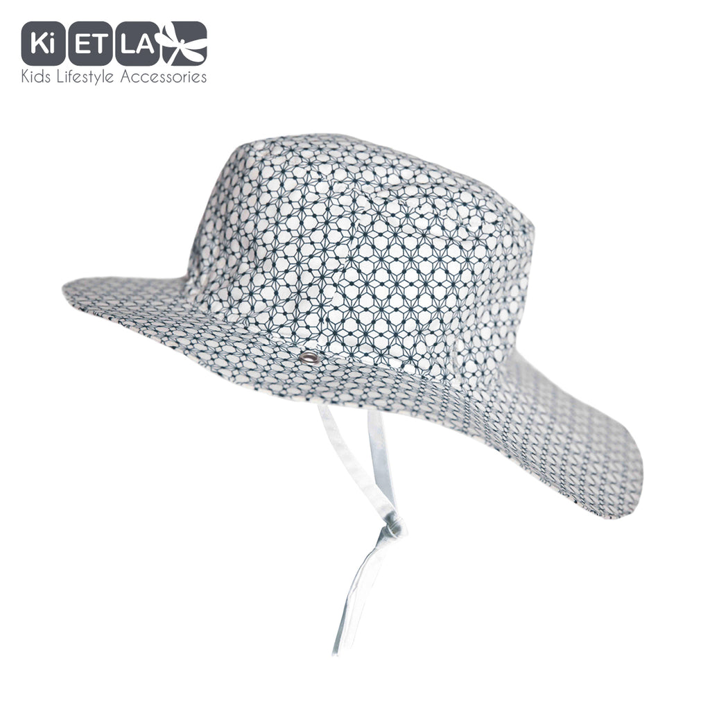 Kapel Anti-UV Reversible Sun Hat in Graphic Style (baby sizes)