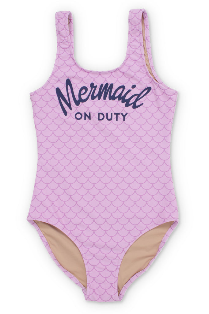 SC One Piece Mermaid on Duty Lilac Swimsuit