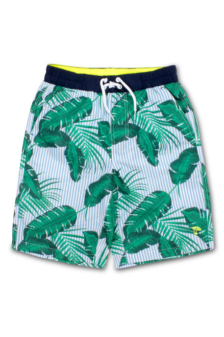 SC Swim Short Botanical Blue