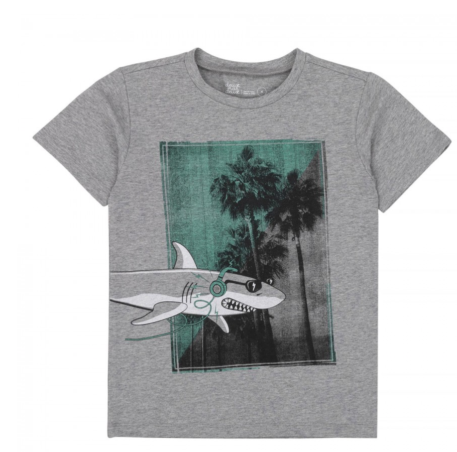 Grey Shark T-shirt