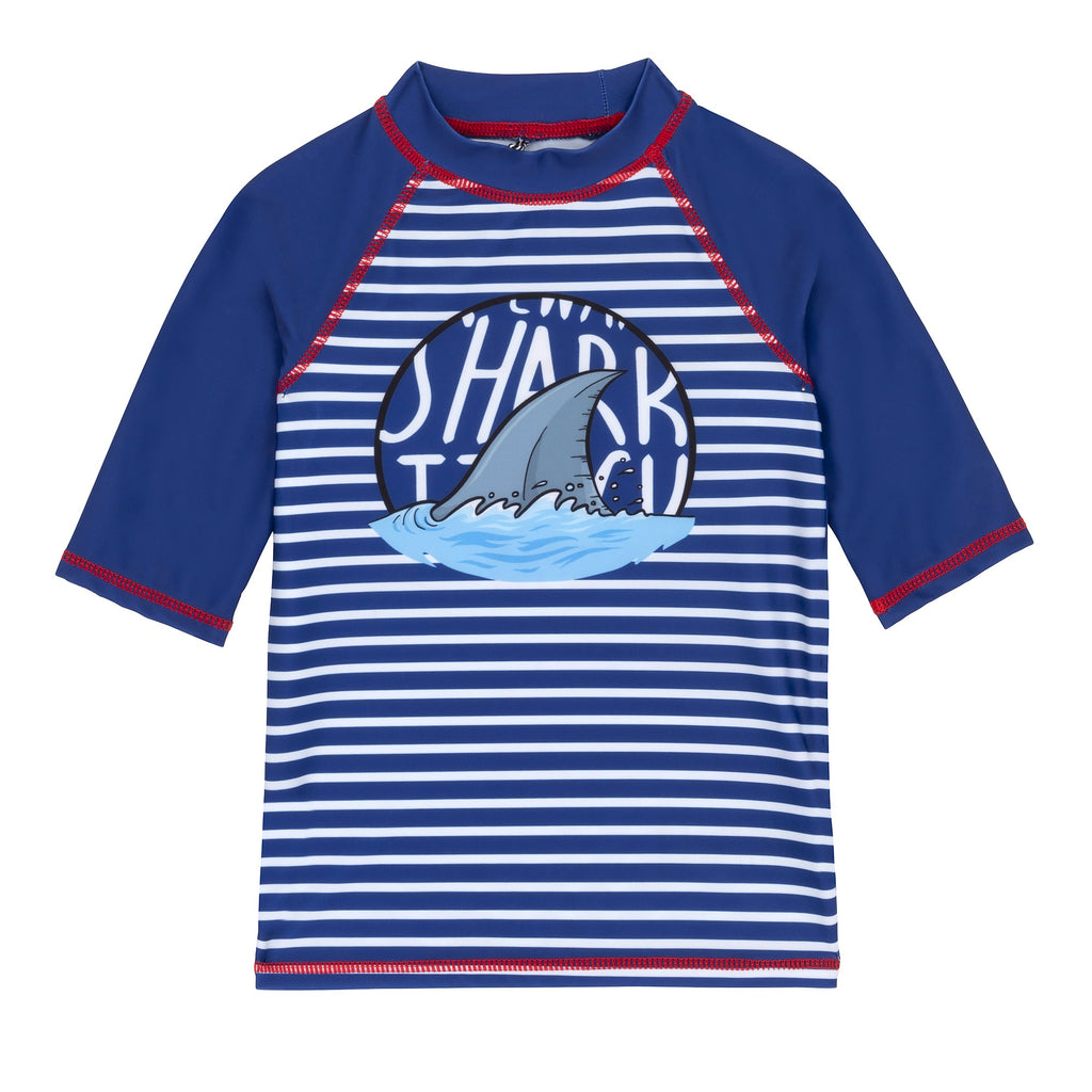DPD Shark Short Sleeve Rashguard