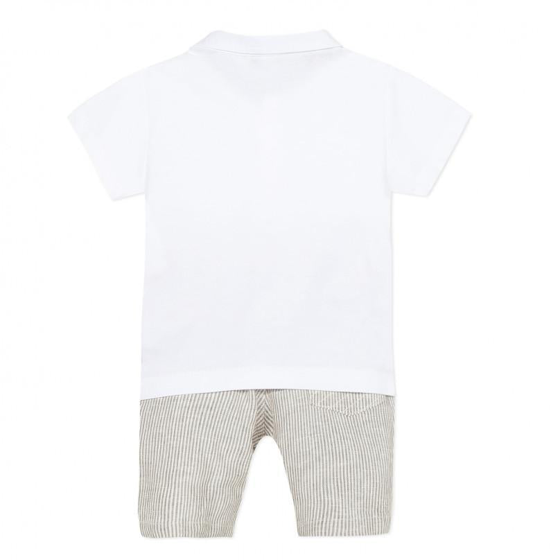 3P Polo and Shorts Set