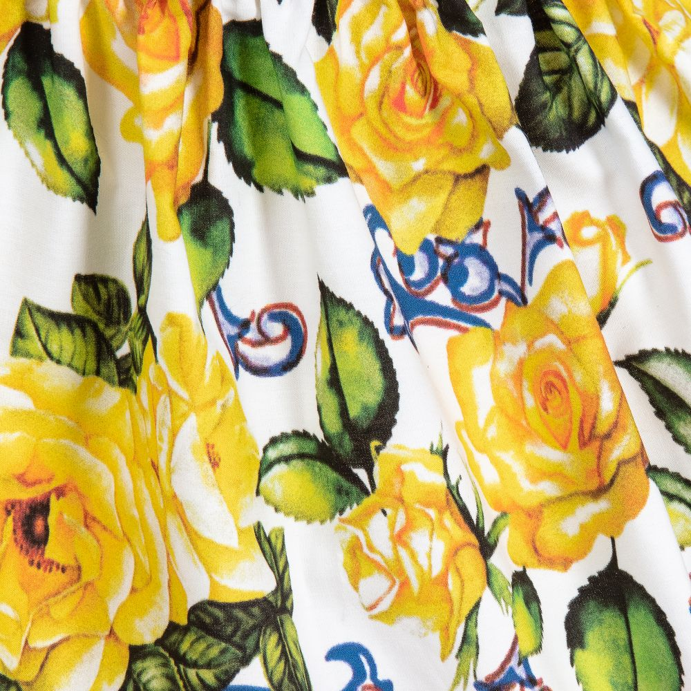 Yellow Roses Skirt