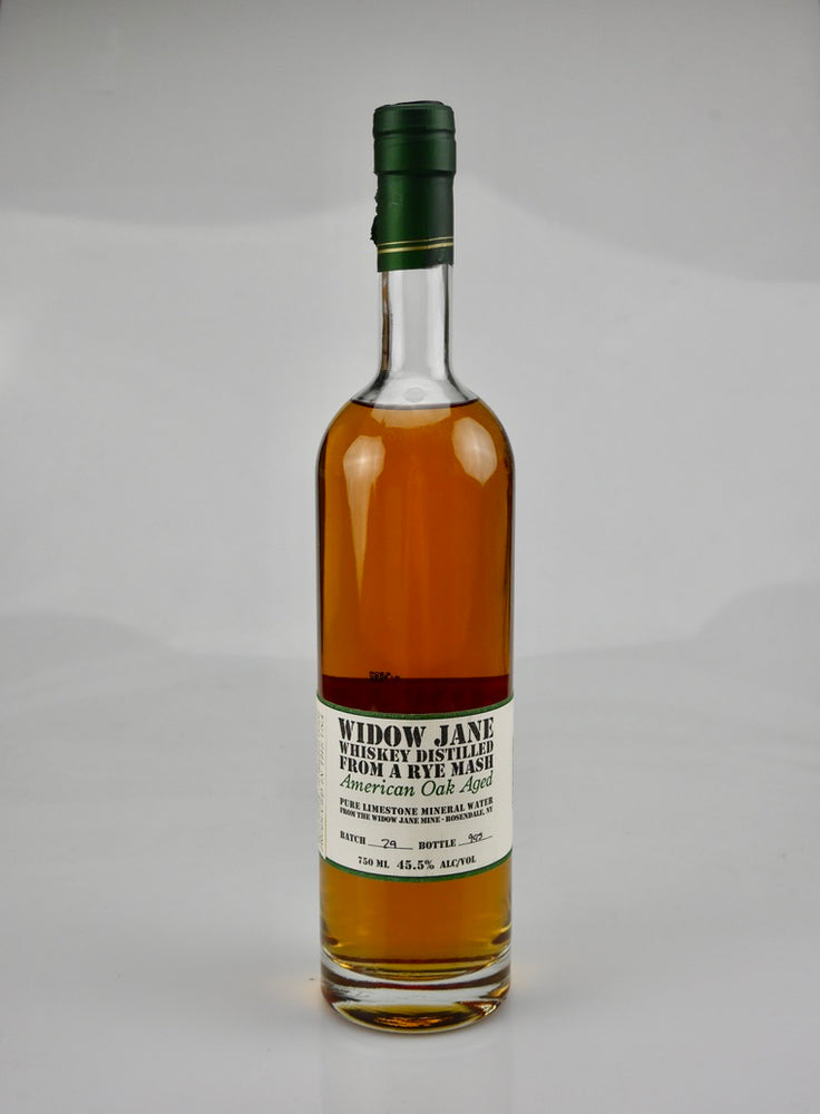Widow Jane Oak Aged Rye Whiskey - Moreish Wines