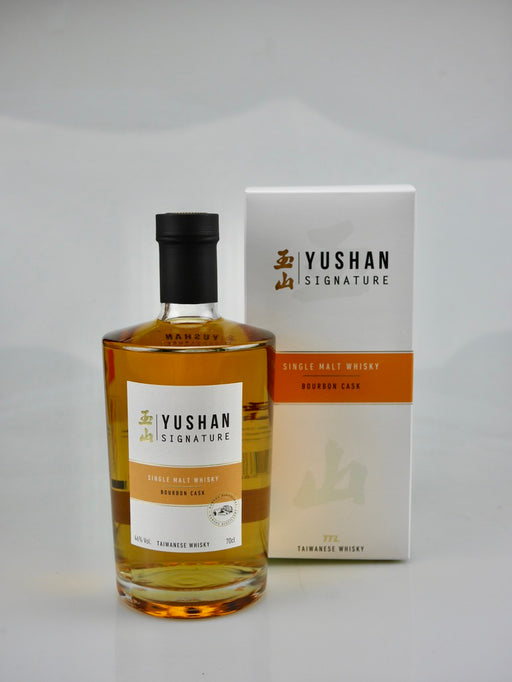 Yushan Signature Single Malt Whisky Bourbon Cask - Moreish Wines