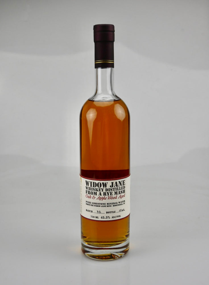 Widow Jane Rye Whiskey Aged American Applewood 10 Years - Moreish Wines