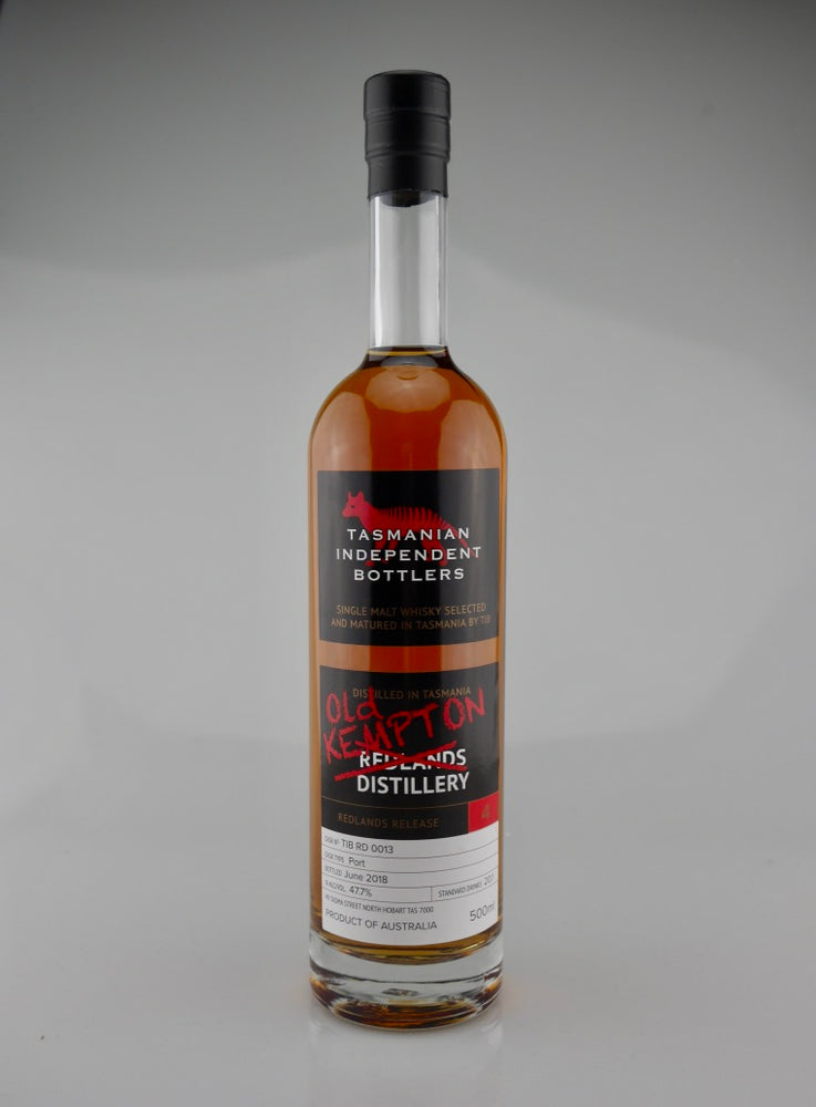 Tasmanian Independent Bottlers TIB RD 0013 Port Cask Single Malt Whisky - Moreish Wines