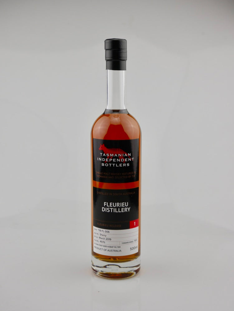 Tasmanian Independent Bottlers TIB FL 006 Sherry Cask Single Malt Whisky - Moreish Wines