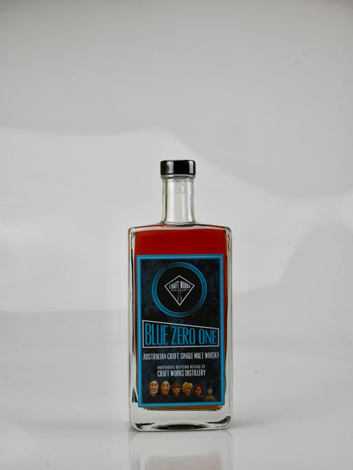 Craft Works Distillery 'Blue Zero One' Single Malt Whisky