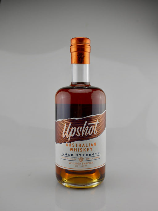 Whipper Snapper Distillery, Upshot Australian Whiskey Cask Strength - Moreish Wines