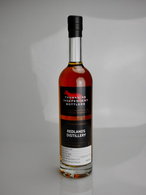 Tasmanian Independent Bottlers TIB RD 009 Port Cask Single Malt Whisky - Moreish Wines