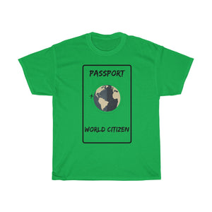 World citizen T-shirt - Beeredee Irish Green / S