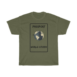 World citizen T-shirt - Beeredee Military Green / S
