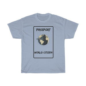 World citizen T-shirt - Beeredee Light Blue / S