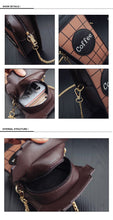 Load image into Gallery viewer, Coffee cup shaped  chain shoulder bag -  pu leather - Beeredee [variant_title]