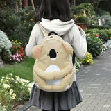 Japanese Backpack - koala design - Beeredee [variant_title]