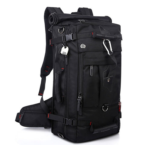 Bali Adventure Backpack - Large Capacity/Waterproof 40L - Beeredee Black