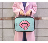 POP style Duffel bag - Beeredee green L