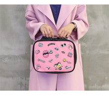 Load image into Gallery viewer, POP style Duffel bag - Beeredee pink M