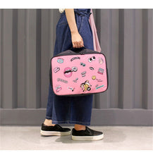 Load image into Gallery viewer, POP style Duffel bag - Beeredee pink L
