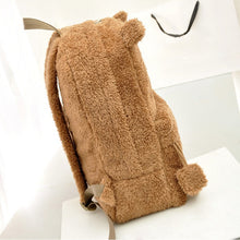 Load image into Gallery viewer, Cute fur backpack with ears - Beeredee [variant_title]